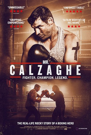 Mr Calzaghe - British Movie Poster (thumbnail)