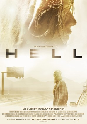Hell - German Movie Poster (thumbnail)