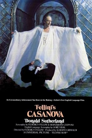Il Casanova di Federico Fellini - Movie Poster (thumbnail)