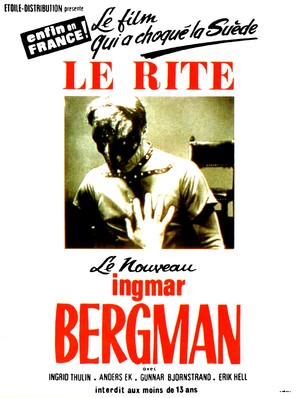 Riten - French Movie Poster (thumbnail)