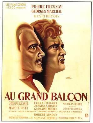 Au grand balcon - French Movie Poster (thumbnail)
