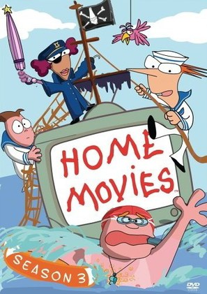 """Home Movies"" - DVD movie cover (thumbnail)"