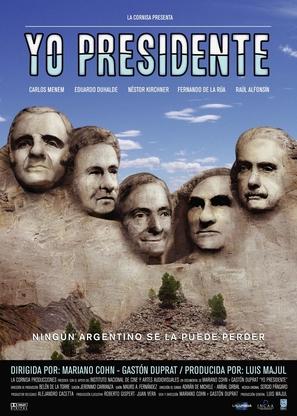 Yo Presidente - Argentinian poster (thumbnail)