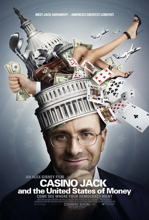 Casino Jack and the United States of Money - Theatrical movie poster (thumbnail)