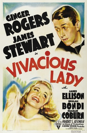 Vivacious Lady - Theatrical poster (thumbnail)