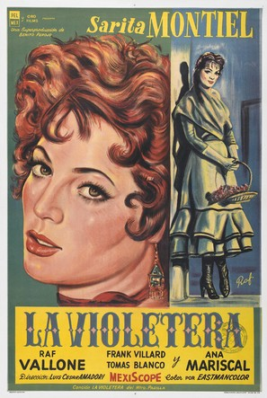 La violetera - Argentinian Movie Poster (thumbnail)