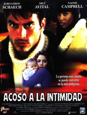 Invasion of Privacy - Spanish Movie Poster (thumbnail)