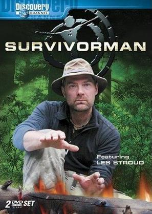 """Survivorman"" - Canadian DVD cover (thumbnail)"