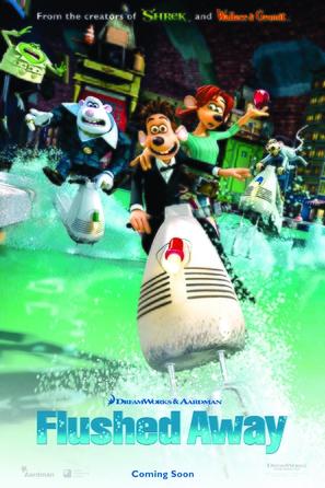 Flushed Away - Movie Poster (thumbnail)
