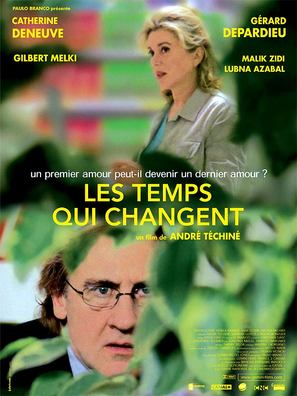 Les temps qui changent - French Movie Poster (thumbnail)