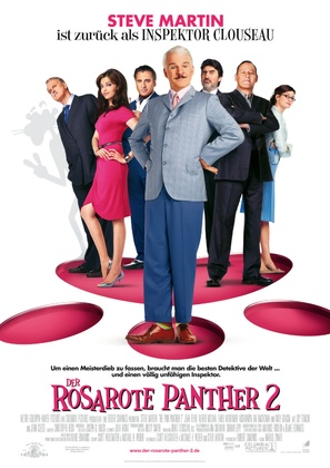 The Pink Panther 2 - German Movie Poster (thumbnail)