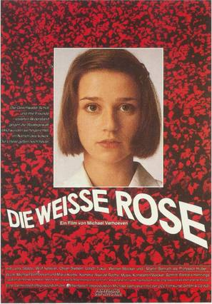 Die weiße Rose - German Movie Poster (thumbnail)
