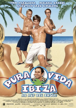Pura vida Ibiza - German Movie Poster (thumbnail)