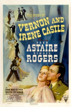 The Story of Vernon and Irene Castle - Movie Poster (thumbnail)