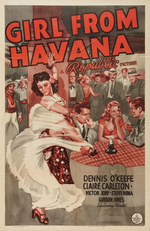 Girl from Havana - Movie Poster (thumbnail)