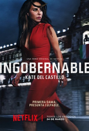 """Ingobernable"" - Mexican Movie Poster (thumbnail)"