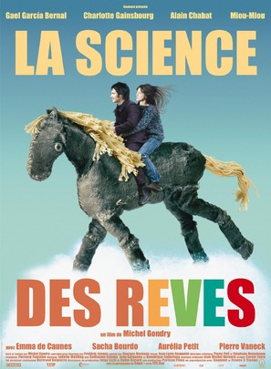 La science des rêves - French Movie Poster (thumbnail)
