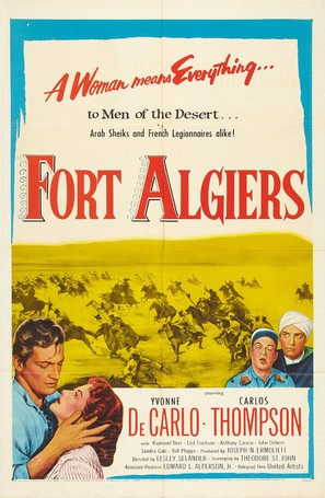 Fort Algiers - Movie Poster (thumbnail)