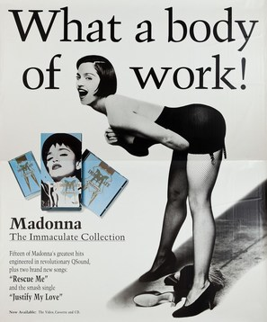 Madonna: The Immaculate Collection - Movie Poster (thumbnail)