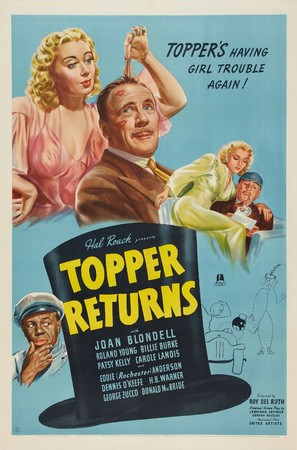 Topper Returns - Movie Poster (thumbnail)