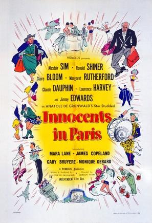 Innocents in Paris - British Movie Poster (thumbnail)