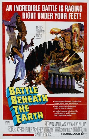 Battle Beneath the Earth - Movie Poster (thumbnail)