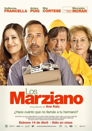 Los Marziano - Argentinian Movie Poster (thumbnail)