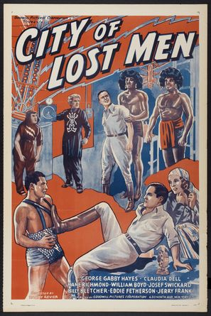 City of Lost Men - Movie Poster (thumbnail)