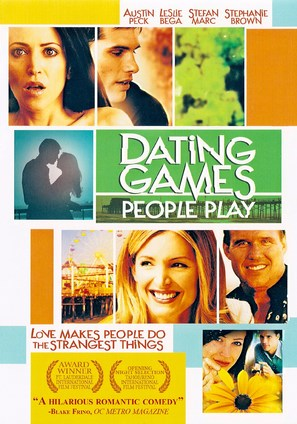 Dating Games People Play - DVD cover (thumbnail)