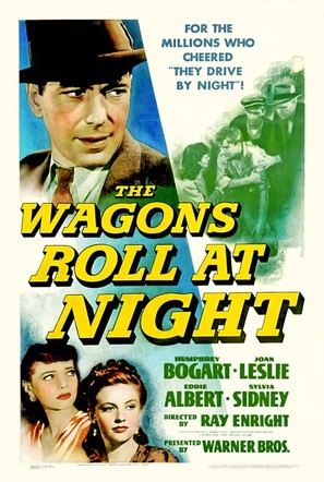 The Wagons Roll at Night - Movie Poster (thumbnail)