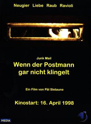 Budbringeren - German Movie Poster (thumbnail)