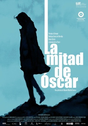 La mitad de Óscar - Spanish Movie Poster (thumbnail)