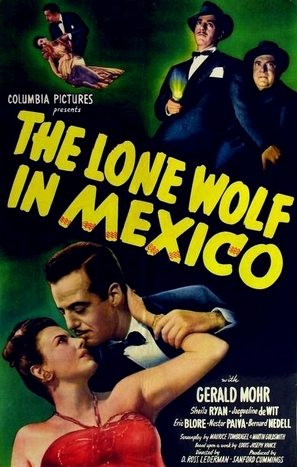The Lone Wolf in Mexico - Movie Poster (thumbnail)