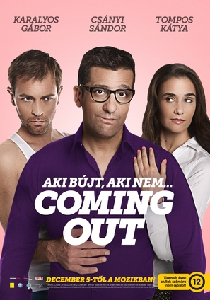 Coming Out - Hungarian Movie Poster (thumbnail)