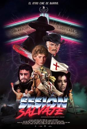 Sesión Salvaje - Spanish Movie Poster (thumbnail)