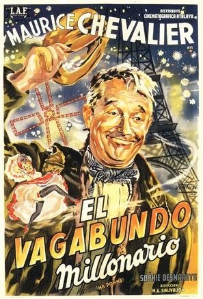 Ma pomme - Argentinian Movie Poster (thumbnail)