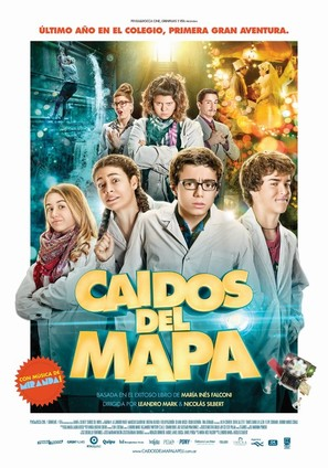 Caídos del mapa - Argentinian Movie Poster (thumbnail)