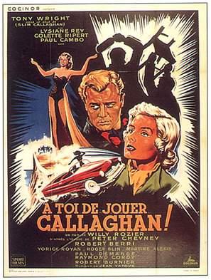 À toi de jouer, Callaghan - French Movie Poster (thumbnail)