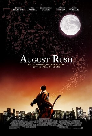 August Rush - Theatrical movie poster (thumbnail)