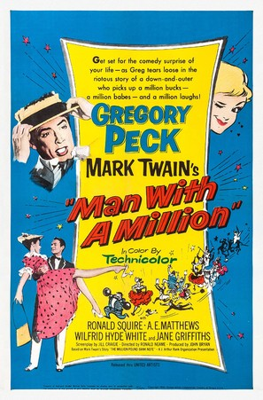 The Million Pound Note - Movie Poster (thumbnail)