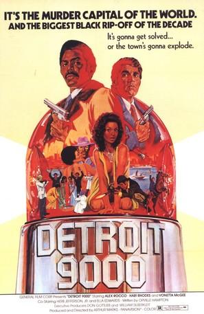 Detroit 9000 - Movie Poster (thumbnail)