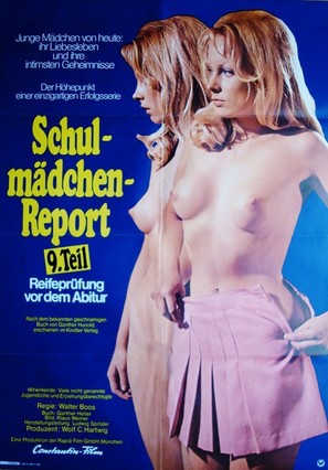 Schulmädchen-Report 9: Reifeprüfung vor dem Abitur - German Movie Poster (thumbnail)