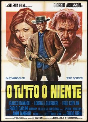 O tutto o niente - Italian Movie Poster (thumbnail)