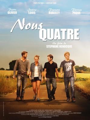 Nous quatre - Belgian Movie Poster (thumbnail)