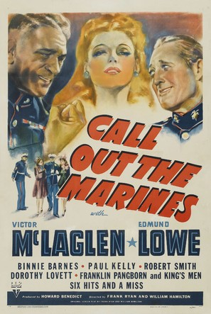 Call Out the Marines - Movie Poster (thumbnail)