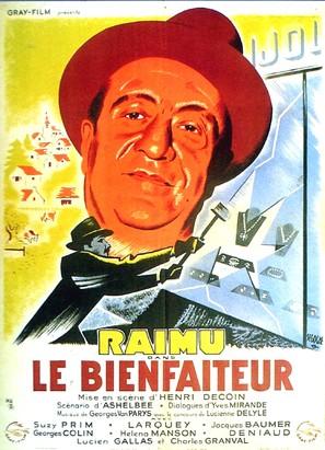 Le bienfaiteur - French Movie Poster (thumbnail)