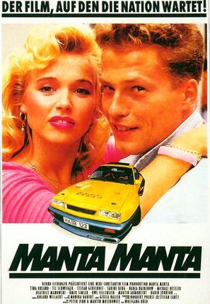 Manta, Manta - German Movie Poster (thumbnail)