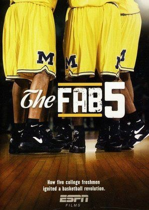 """""""ESPN Films"""" The Fab Five - Movie Poster (thumbnail)"""