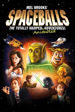 """""""Spaceballs: The Animated Series"""" - Movie Cover (thumbnail)"""
