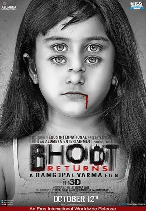 Bhoot Returns - Indian Movie Poster (thumbnail)